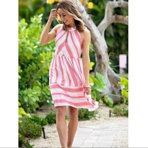 NWT Gibson Cape May Stripe Dress